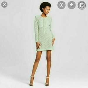Victoria Beckham for Target Mint Green Long Sleeve